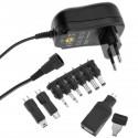 Alimentador universal 100-240 VAC a DC multi-voltaje 12 W