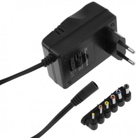 Alimentador universal 100-240 VAC a DC multi-voltaje 29 W