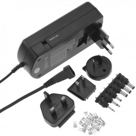 Alimentador universal 100-240 VAC a DC multi-voltaje 5 V a 24 V
