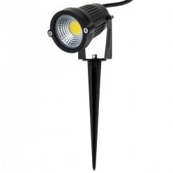 Foco LED IP65 5W 425LM con estaca para exterior