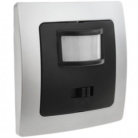 Interruptor/Detector de Movimiento por Infrarrojos Empotrable