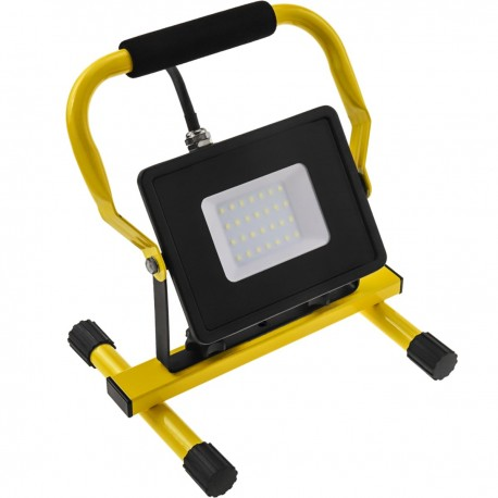Foco de LED IP65 portable 30W 220V 6500K con Soporte