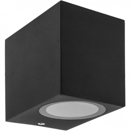 Aplique LED Cuadrado IP54 1x35W GU10 220V de pared
