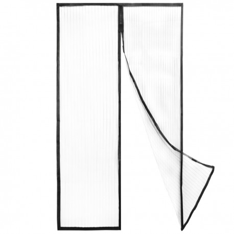 Mosquitera para puerta 100 x 220 cm con cierre magnético