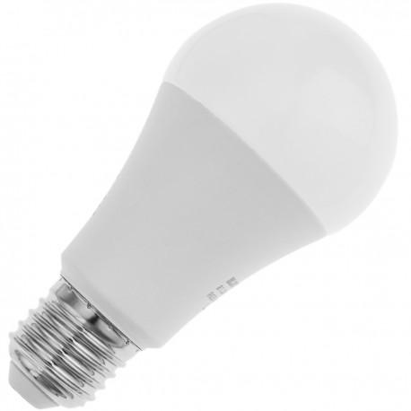 Bombilla LED inteligente multicolor inalámbrica ajustable E27 9W compatible con Google Home, Alexa y IFTTT