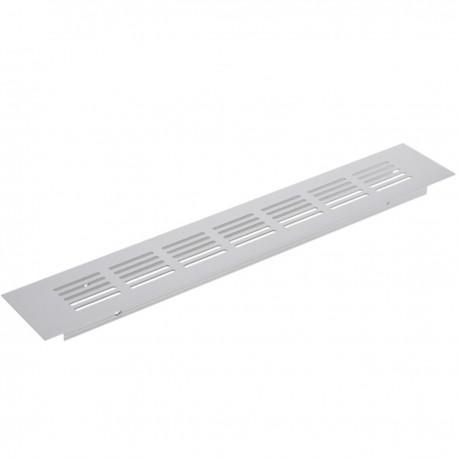 Rejilla de ventilación para zócalo aluminio 300x50mm