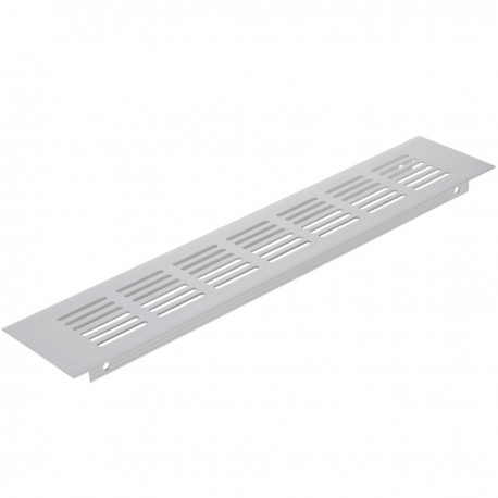 Rejilla de ventilación para zócalo aluminio 250x60mm