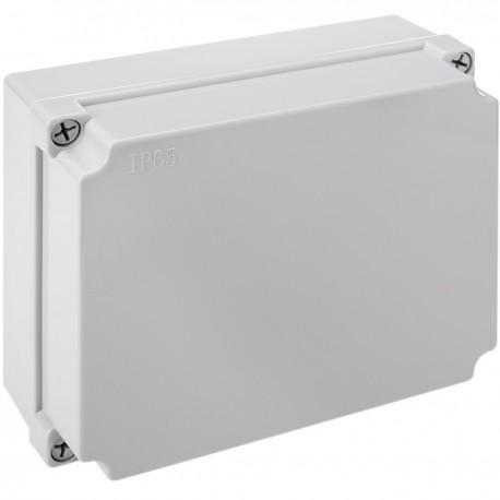 Caja estanca de superficie rectangular IP65 250x200x100mm