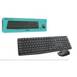 Kit Reclado + Rato Wireless Logitech MK235