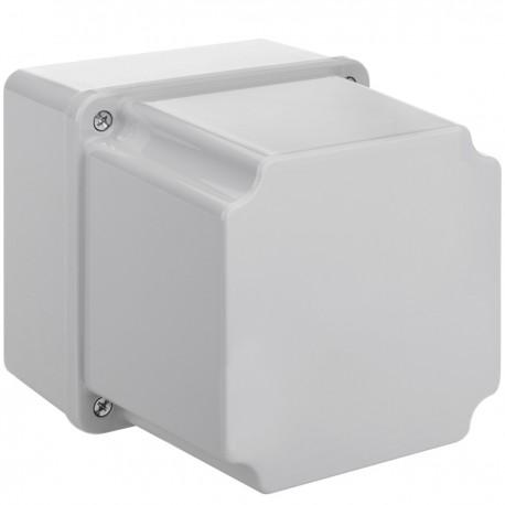 Caja de superficie cuadrada IP66 libre de halógenos LSZH 120x120x140mm