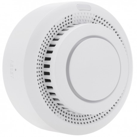 Detector de humo inteligente WiFi compatible con Google Home, Alexa y IFTTT