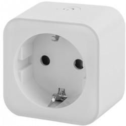 Enchufe inteligente 16A 3680W WiFi blanco compatible con Google Home, Alexa y IFTTT