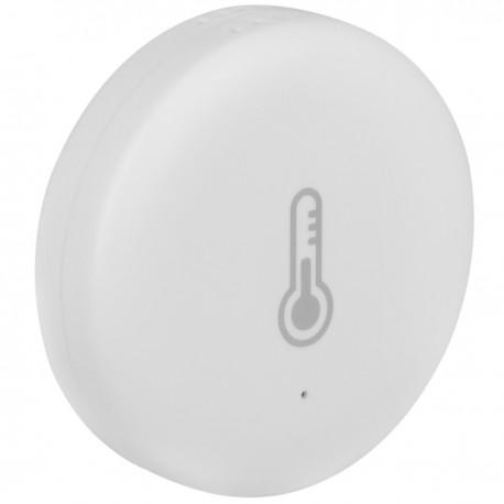 Sensor inteligente de temperatura y humedad WiFi compatible con Google Home, Alexa y IFTTT