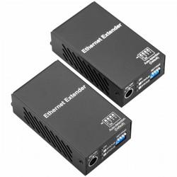 Extensor Ethernet de largo alcance TCP/IP sobre cable Cat.5e 800 m