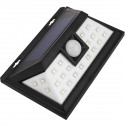 Aplique solar LED Lámpara recargable de pared con sensor de movimiento y oscuridad IP54 5W