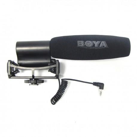 Micrófono para cámara unidireccional BOYA BY-VM02