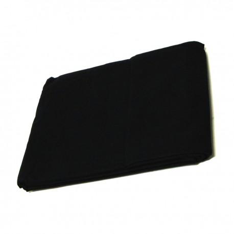 Fondo de tela de 450x300 cm de color negro