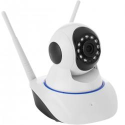 Cámara de vigilancia wifi 360º con visión nocturna por infrarrojos