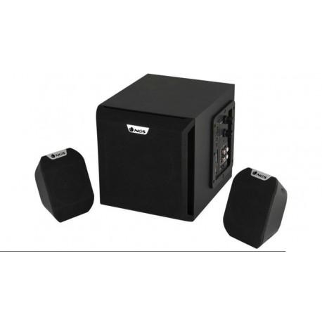 Altavoces 2.1 NGS Cosmos 72W RMS SD Card, USB, con control de volumen y bajos