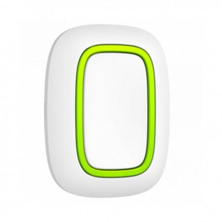 Ajax Button - Botón de pánico Bidireccional Inalámbrico 868 MHz Jeweller - blanco