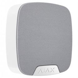 Ajax HomeSiren - Sirena inalámbrica para interior Certificado grado 2 - blanco