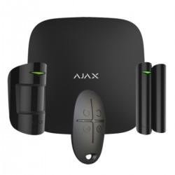 Ajax Hubkit - Kit de alarma profesional Certificado Grado 2 - negro