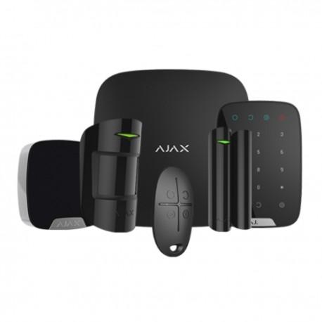 Ajax Hubkit KS - Kit de alarma profesional Certificado Grado 2 - negro