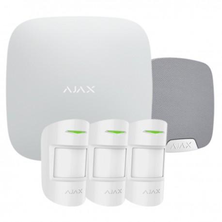 Ajax Hubkit Pro S - Kit de alarma profesional Certificado Grado 2