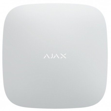 Ajax Hub - central de alarma grado 2 - Ethernet, 2G y transmisión de vídeo - blanco