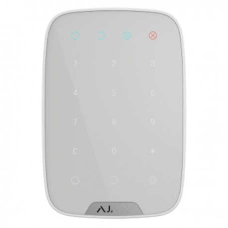 Ajax KeyPad - Teclado independiente bidireccional Certificado grado 2 - blanco