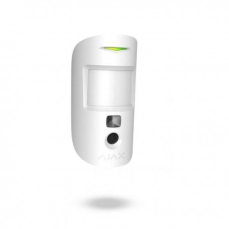 Ajax MotionCam - Detector PIR con cámara fotográfica antimascotas Certificado Grado 2 - blanco
