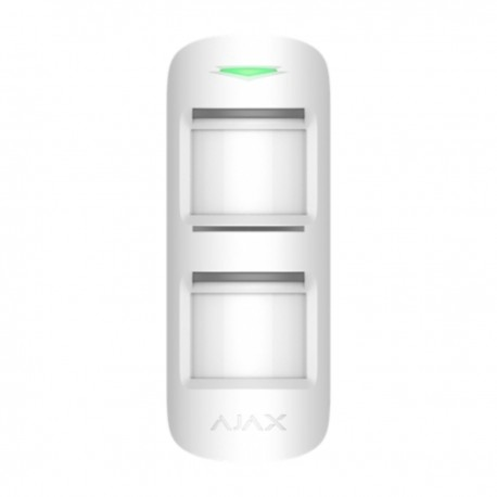 Ajax Outdoor Protect - Detector PIR exterior Doble PIR / Detección 15m - blanco