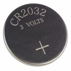 Pila de litio de 3V formato botón CR2032