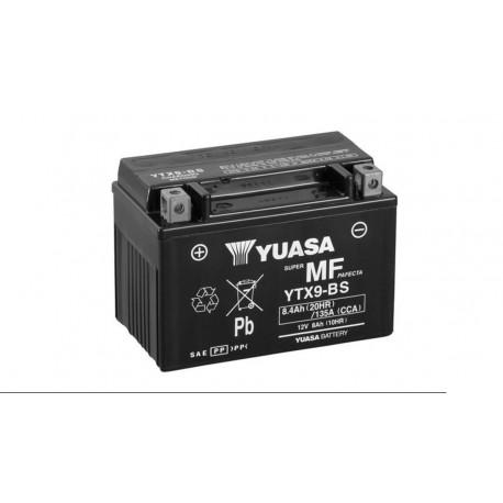 Bateria Yuasa Moto YU-YTX9-BS 12V 8Ah