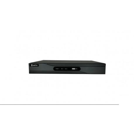 NVR 8 canales IP Res. Máx. 8MP 4K 80Mbps 1080P H.265+ HDMI/VGA/audio 2USB