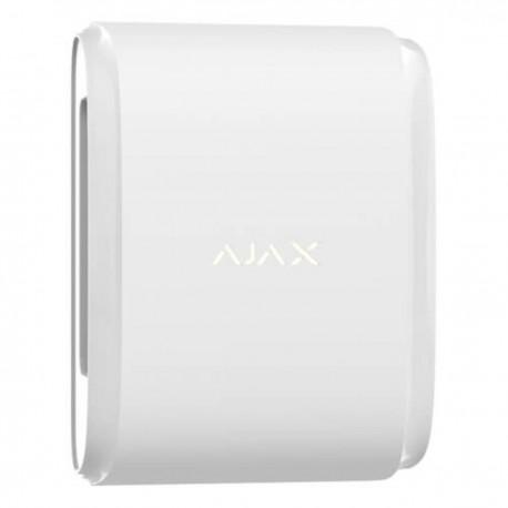 Ajax DualCurtain Outdoor - Detector de movimiento de cortina bidireccional e inalámbrico para exteriores - blanco