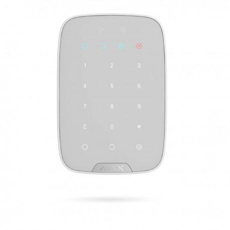 Ajax KeyPad - Teclado independiente con lector RFID de tarjetas/tags - blanco