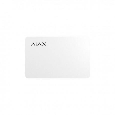 Ajax Pass - Tarjeta protegida sin contacto para teclado - blanco