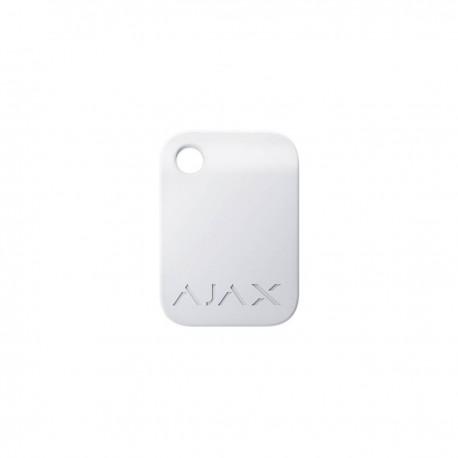 Ajax Tag - Llavero cifrado sin contacto para teclado - blanco