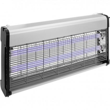 Mata insectos eléctrico profesional de 2 tubos de 20w UV 40W