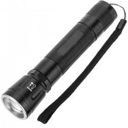 Mini linterna de alta potencia LED 10W premium IP44 con batería recargable