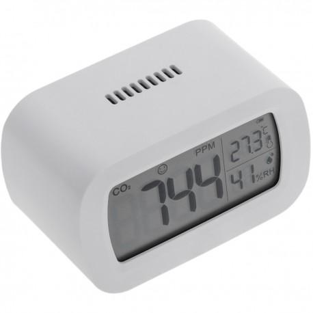 Medidor y monitor de CO2 para interiores con temperatura y humedad en el aire
