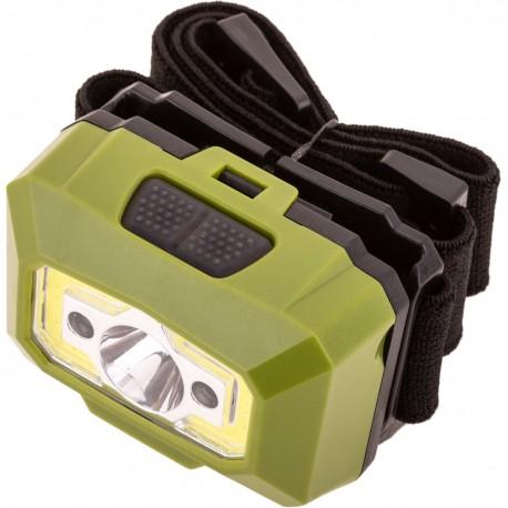 Linterna Frontal de alta potencia IPX6 de 6 W, sensor de movimiento y recargable por USB