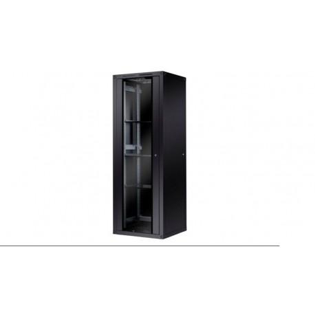 """Armario Rack 19"""" Phasak 600 x 600 negro"""