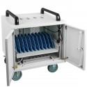 """Ventilador de techo para armario rack 19"""" de 120mm 220VAC con rejilla y cable de alimentación - Rack"""