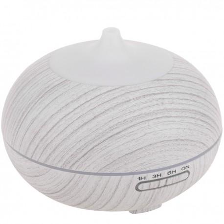 Difusor y humidificador de aromas por ondas ultrasónicas con luz RGB 12W 300 ml