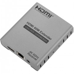 Receptor para Extensor HDMI 2.0 a través de cable Ethernet (RJ45) Cat5e/6 hasta 60 metros 4K@60Hz