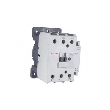 Contactor 3P AC3 24Vac 1NO+NC
