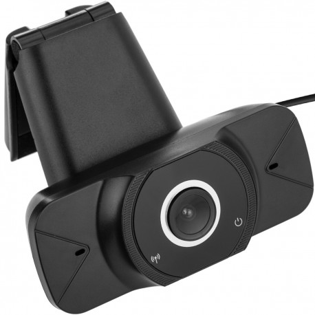 Cámara web de vídeo HD 1080P con micrófono incorporado 80 x 32 x 32 mm