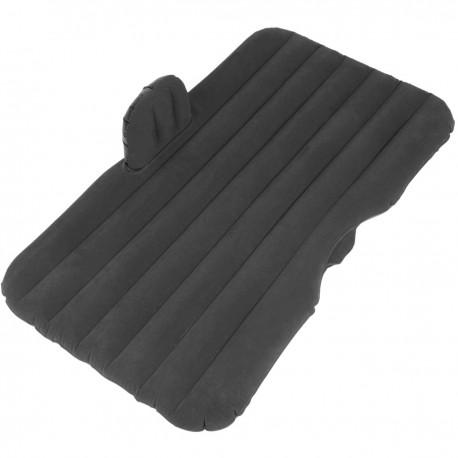 Colchón hinchable color negro Kit completo de cama inflable para dormir en coche con bomba de aire eléctrico y almohada inflable